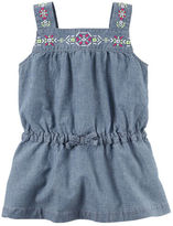 Carter's Embroidered Chambray Tunic