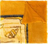 Avant Toi printed scarf - women - Silk/Cashmere - One Size