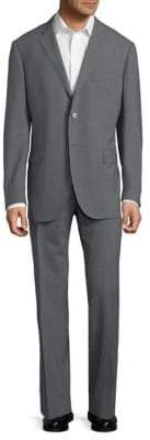 Corneliani Stripe Wool Suit