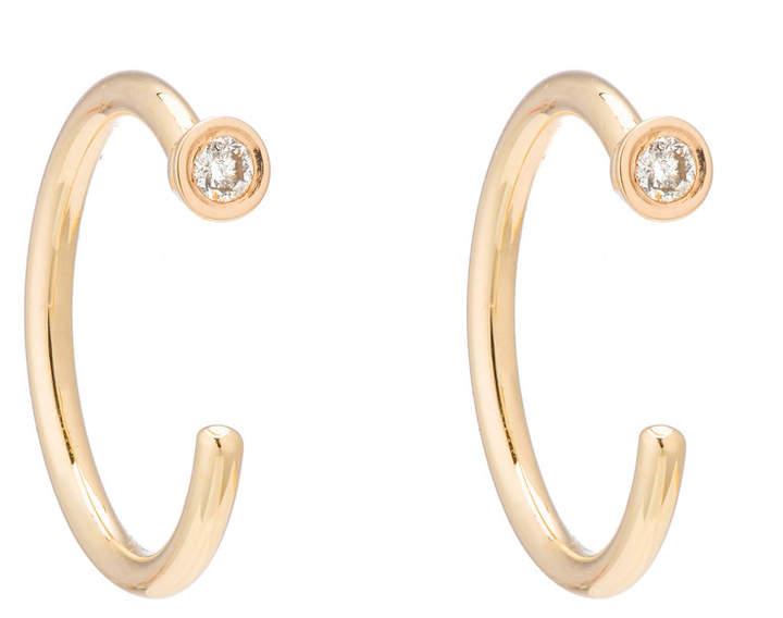 Ariel Gordon Diamond Dust Hoops Earring