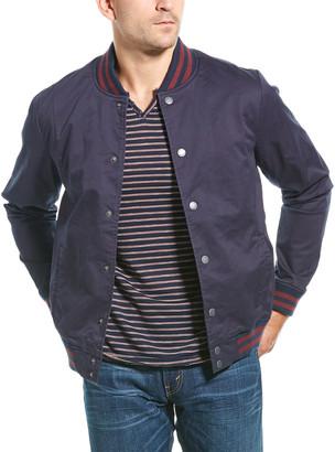 Jachs Twill Varsity Jacket