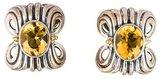 Lagos Gemstone Clip Earrings