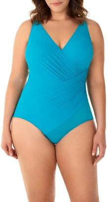 Miraclesuit Oceanus One-Piece Swimsuit (Plus Size)