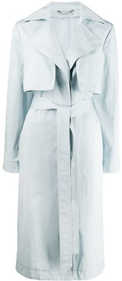Stella McCartney twill trench coat