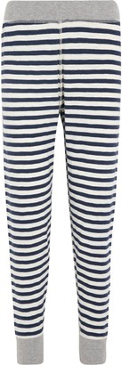 Sleepy Jones Helen Striped Cotton-jersey Leggings
