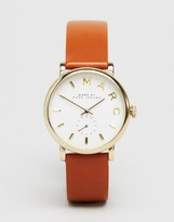 Marc Jacobs Tan Leather Strap Watch MBM1316