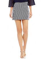 Trina Turk Rico Striped Mini Skirt