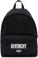 Givenchy Black Logo Backpack