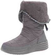 Skechers Women's Halo-Ring-Quilted Nylon Winter Boot