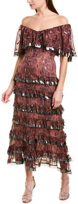 Rebecca Taylor Tiered Maxi Dress