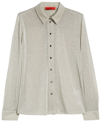 Max & Co. Jersey Lame Shirt
