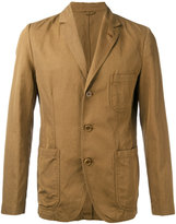Aspesi khaki jacket - men - Cotton/Linen/Flax - S