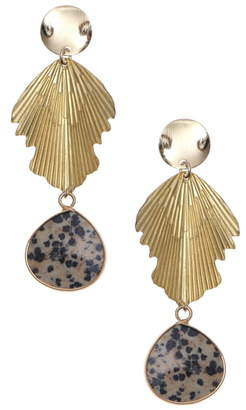 Nakamol Chicago Semiprecious Stone Drop Earrings