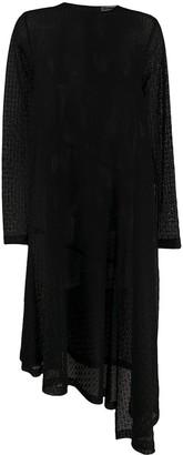 Jil Sander Floral-Pattern Asymmetric Dress