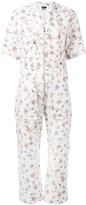 Isabel Marant floral jumpsuit - women - Cotton - 38