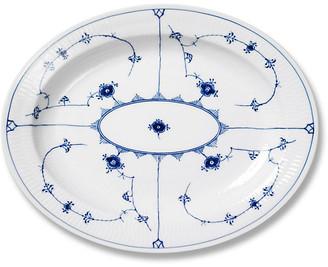 Royal Copenhagen Blue Plain Oval Platter - Large