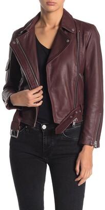 AllSaints Harland Leather Biker Jacket