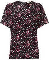 Saint Laurent star print blouse