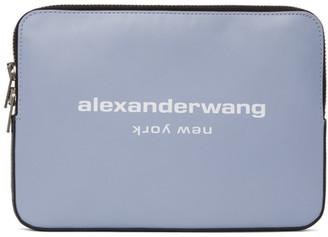 Alexander Wang Blue Scout Clutch