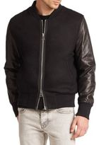 Ami Teddy Bomber Jacket