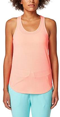 Esprit Women's 058ei1k003 Sports Tank Top, (Light Aqua Green 390), 12 (Size: Medium)