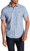 Original Penguin Butterfly Print Button Heritage Slim Fit Shirt