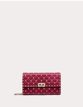 Valentino Garavani Rockstud Spike Nappa Leather Crossbody Clutch Bag