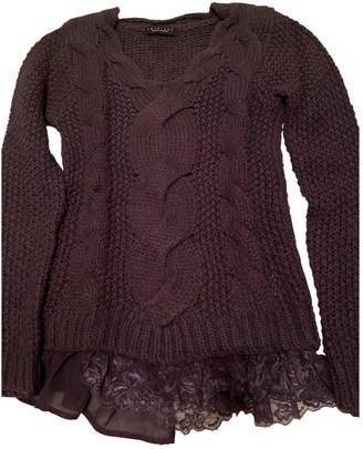 Twin-Set Twin Set Purple Wool Knitwear for Women