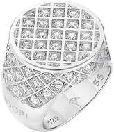JOOP! Joop JPRG90335 A550 Women's Ring 925 Sterling Silver Rhodium Plated Crystal Zirconia JPRG90599A5 Engaging White white