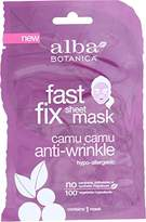 Alba Fast Fix Sheet Anti-Wrinkle Mask, Camu Camu (Pack of 8)