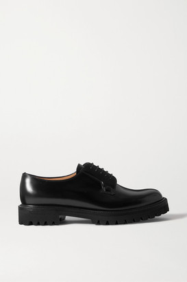 Church's Shannon Glossed-leather Brogues - Black