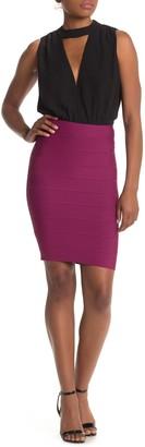 BCBGMAXAZRIA Alexa Sweater Skirt