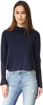 Apiece Apart La Fina Mock Neck Sweater