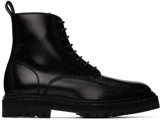 Officine Creative Black Pistols 2 Boots