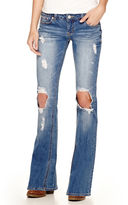 UNIONBAY Union Bay Destructed Flared Jeans