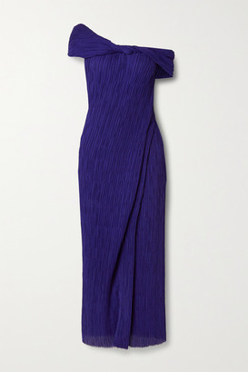 Jason Wu Collection Off-the-shoulder Georgette Maxi Dress - Indigo