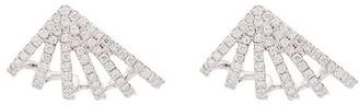 Dana Rebecca Designs Sarah Leah Six Burst 14kt white gold diamond studs