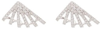 Dana Rebecca Designs Sarah Leah Six Burst 14kt white gold diamond studs