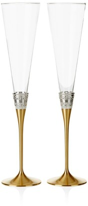 Wedgwood With Love Toasting Flutes (Set Of 2)