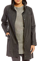 Eileen Fisher Hidden Hood A-Line Jacket