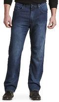 Buffalo David Bitton Dark Wash Knit Jeans Casual Male XL Big & Tall