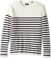 Gant Men's Cotton Stripe Crewneck Sweater