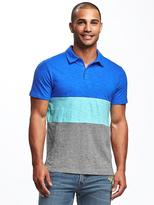 Old Navy Color-Blocked Polo for Men