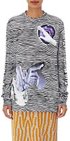 Proenza Schouler Women's Cotton Striped & Graphic Long-Sleeve T-Shirt