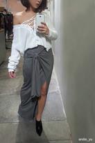 Forever 21 Tie-Waist Maxi Skirt