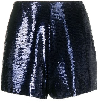 Philosophy di Lorenzo Serafini Sequinned Shorts