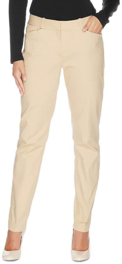 Nautica Full Length Straight Leg Pant
