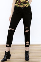 Cello Jeans Black Distressed Jeans