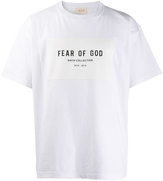 Fear Of God Sixth Collection print T-shirt