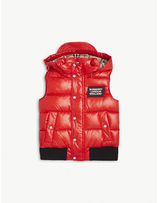 Burberry Lukas padded down gilet 4-14 years